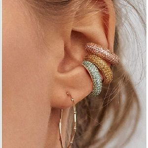 Jewelry - Set of 3 Stuffed Ear Cuffs